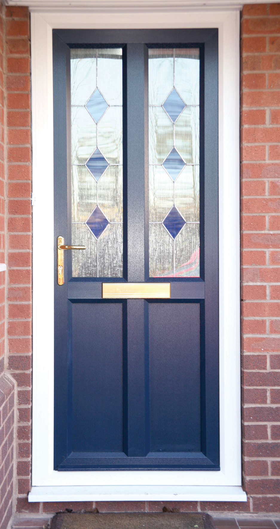 Coloured PVCu Doors