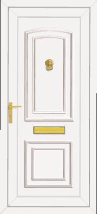 Reagan Roosevelt Door Style