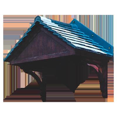 Carisbrooke Door Canopy