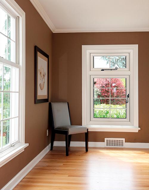 Flush Sash Window Interior Shot